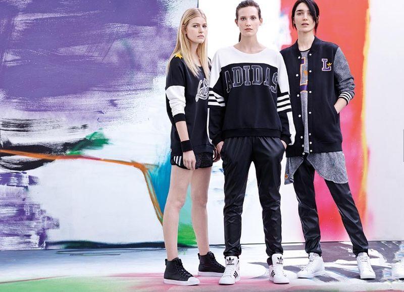 Youthfully Bold Sportswear Adidas Originals Catalog
