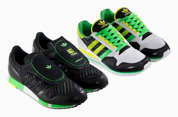 Electric Green Sneakers