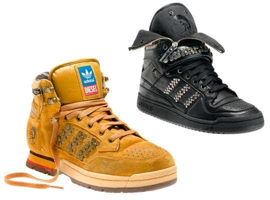 Studded Punk Rock Footwear