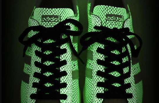 Glowing Scaly Shoes