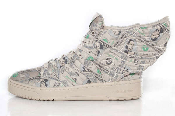 Money-Themed Sneakers