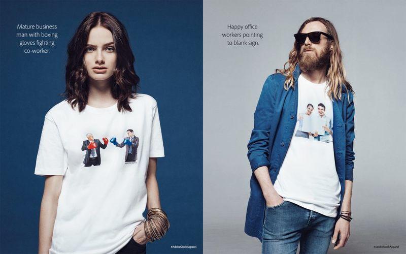 Ironic Stock Photo Shirts