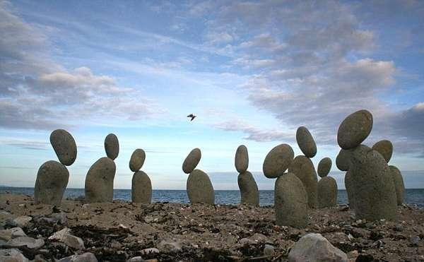 Balancing Rock Art