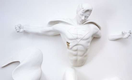 Comic Book Sculptures