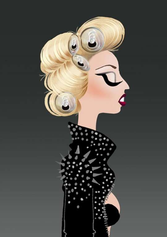 Mother Monster Portraits