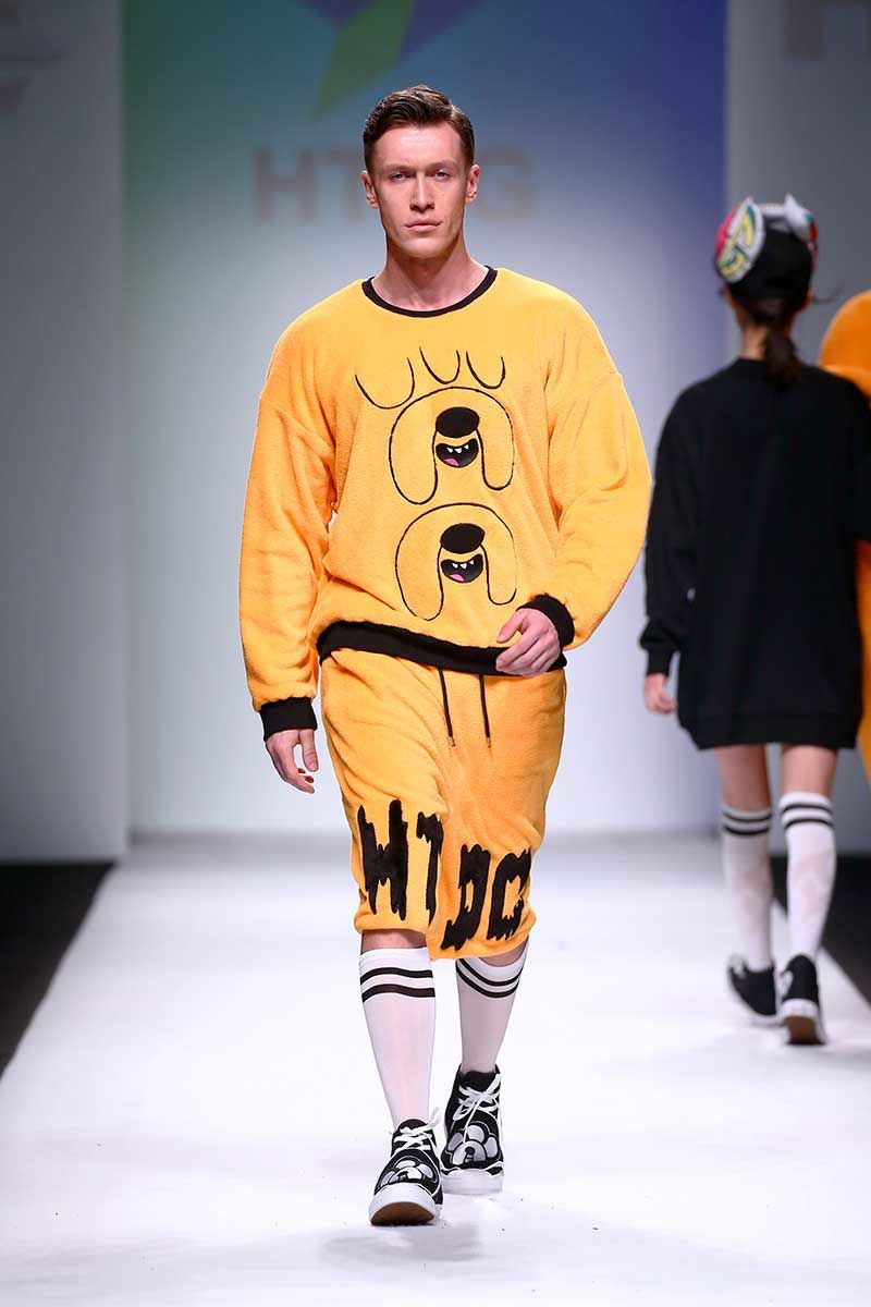 Cartoon-Themed High Fashion