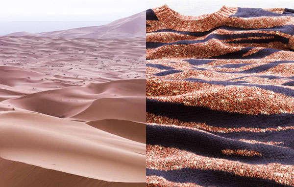 Juxtaposed Landscape Photography