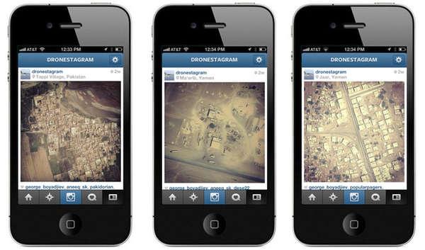 Aerial Social Media Apps