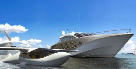 Yachts With Plane Hangars