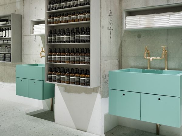 Apothecary-Inspired Retail Spaces