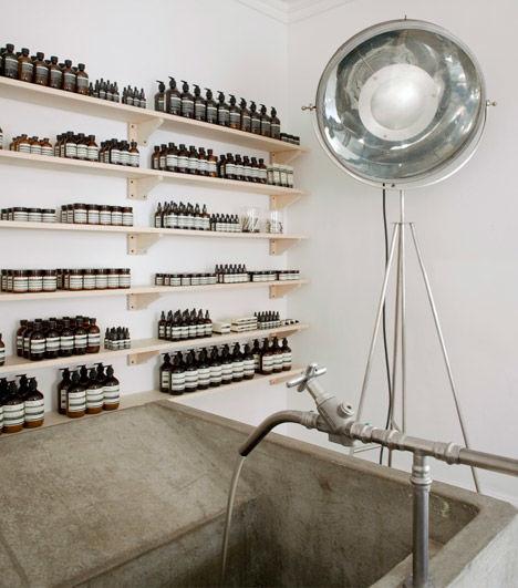 Distillery-Inspired Skincare Shops