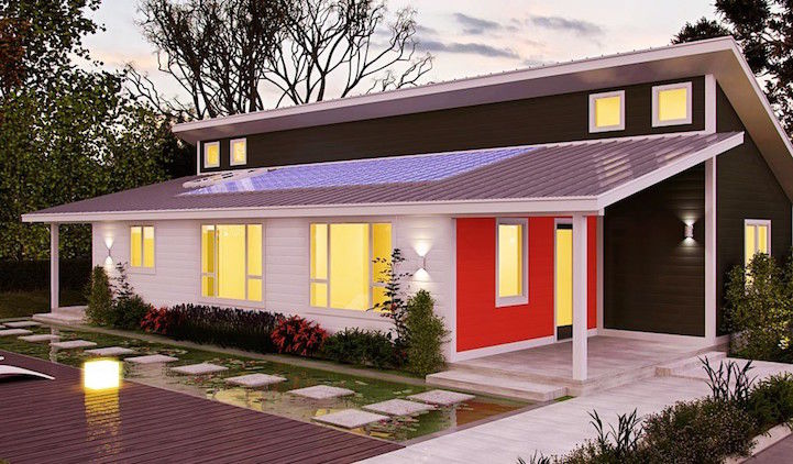 Prefabricated Eco-Homes