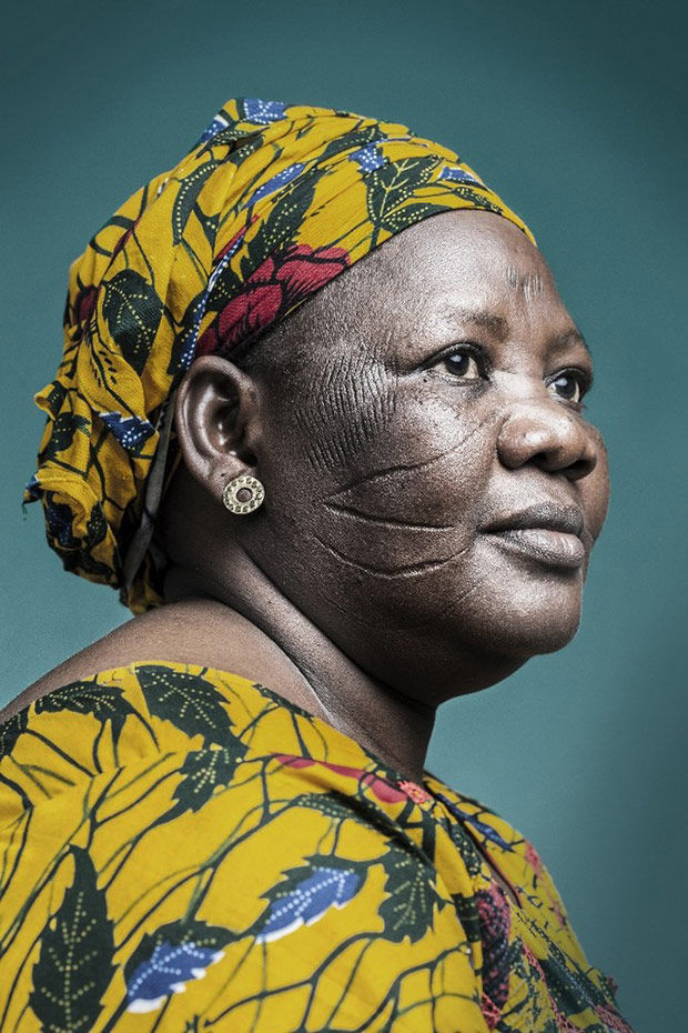 African Scarification Photography