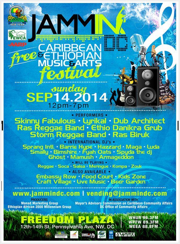 Afro-Caribbean Music Fiestas