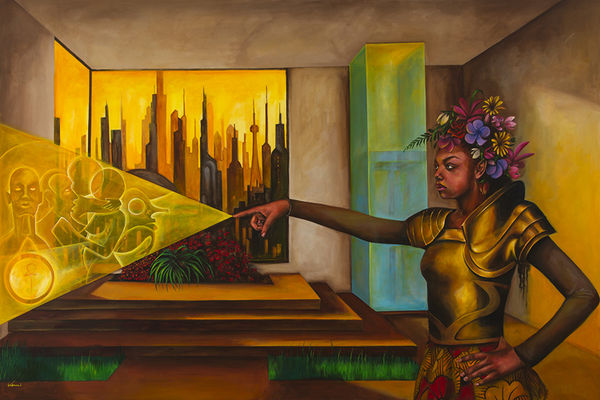 Afrofuturism Paintings