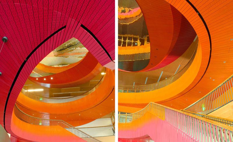 Dizzying University Atriums