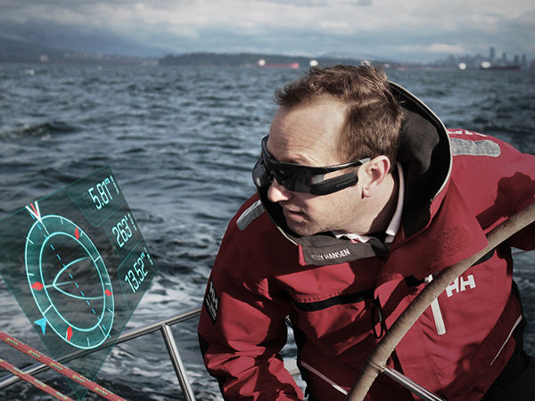 Virtual Boat Sailing Glasses