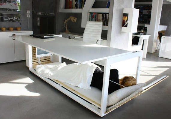Afternoon Nap Bunk Desks