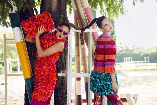 Agatha Ruiz de la Prada Editorial by Cecy Young