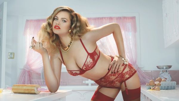 Provocative Housewife Fashion Ads