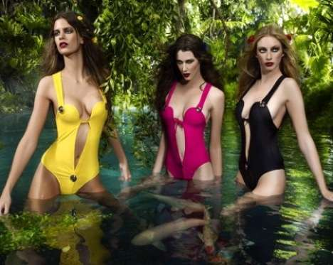 Sizzling Swimwear