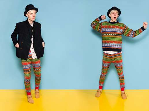 Playfully Patterned Hipsterwear