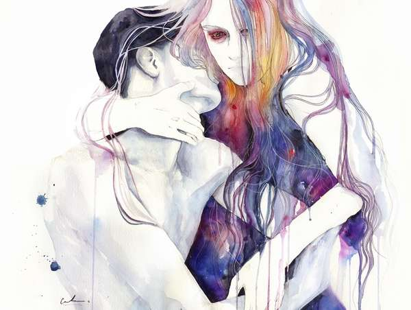 Soulful Watercolor Portraits