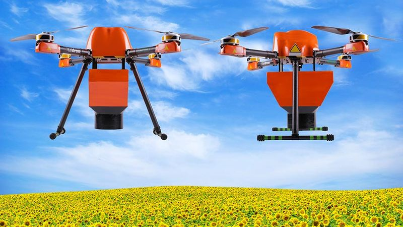 WiFi-Connected Agricultural Drones