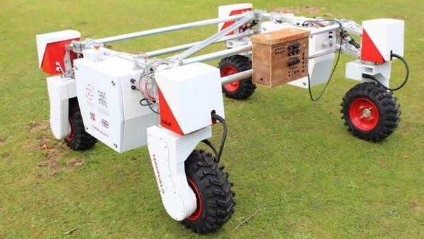 Moisture-Measuring Robots