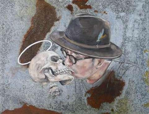 Skeletal Simulation Paintings
