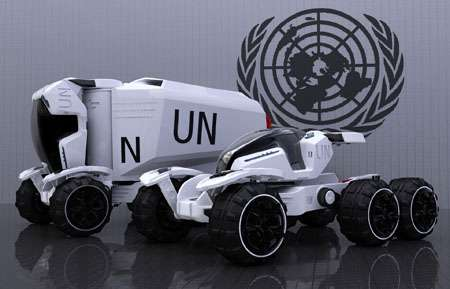 Futuristic Rescue Vehicles