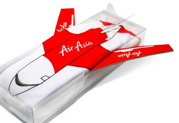 Air Asia T-Shirt Packaging