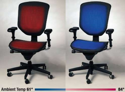 air conditioned chair
