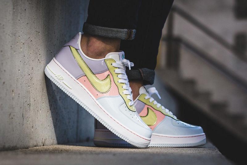 Retro Easter-Inspired Sneakers