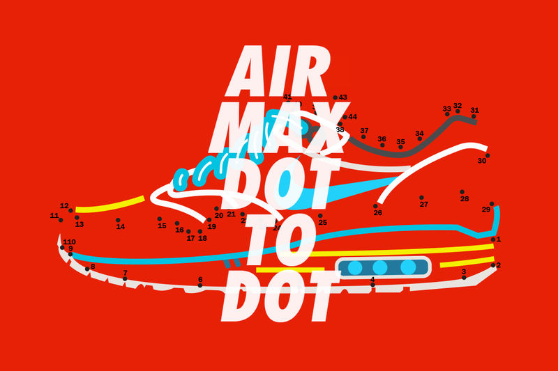 Connect The Dots Sneaker Art Air Max Day Illustrations