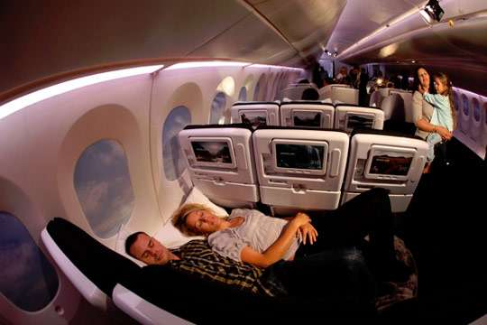 Plane Beds in Coach