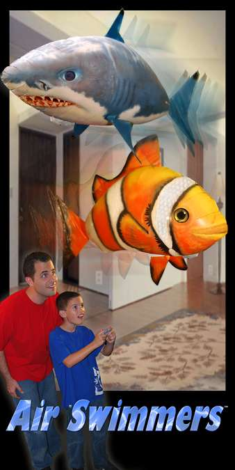 Remote Controlled Helium Fish