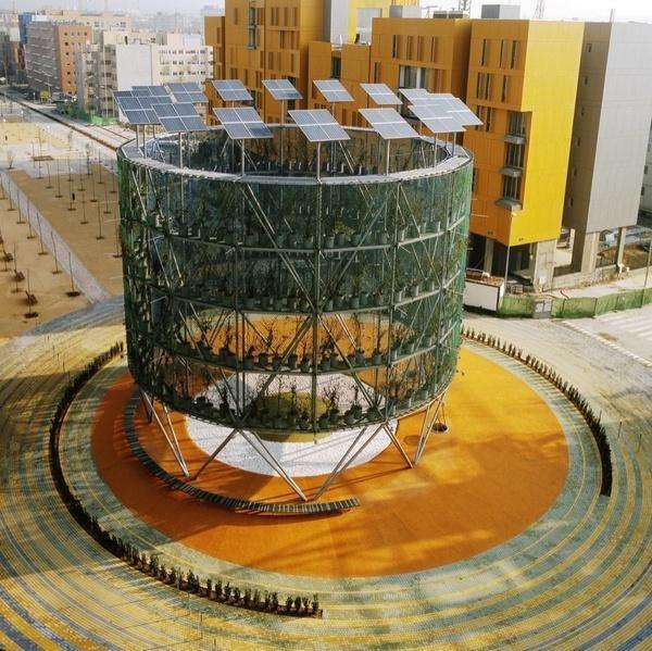 Structure Produces Energy & Oxygen
