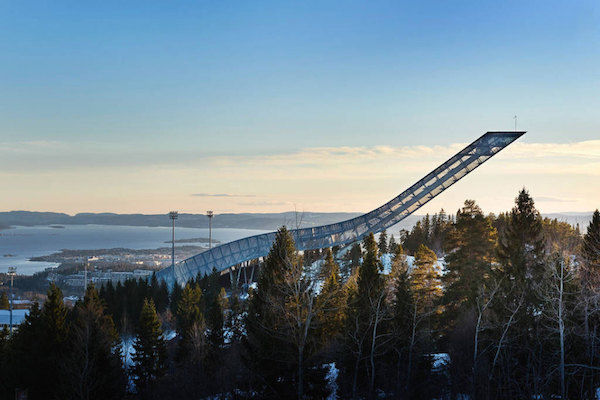 Ski Jump Accommodations