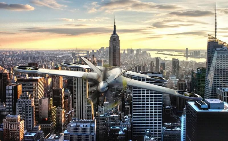 Hybrid Aircraft Drones