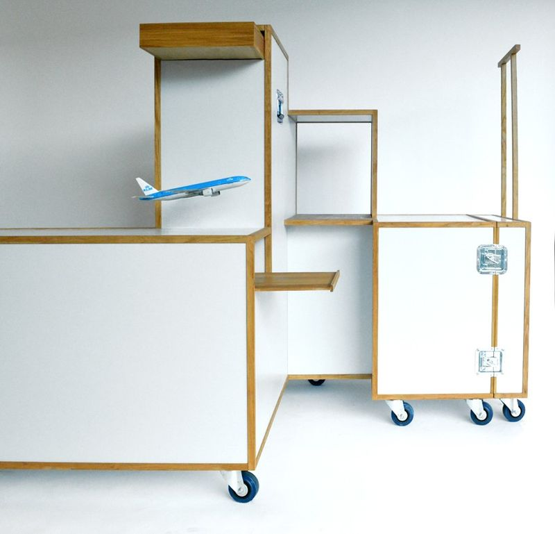 Airline Trolley Closets