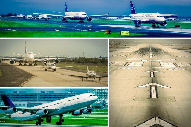 Aircraft-Queuing Algorithms