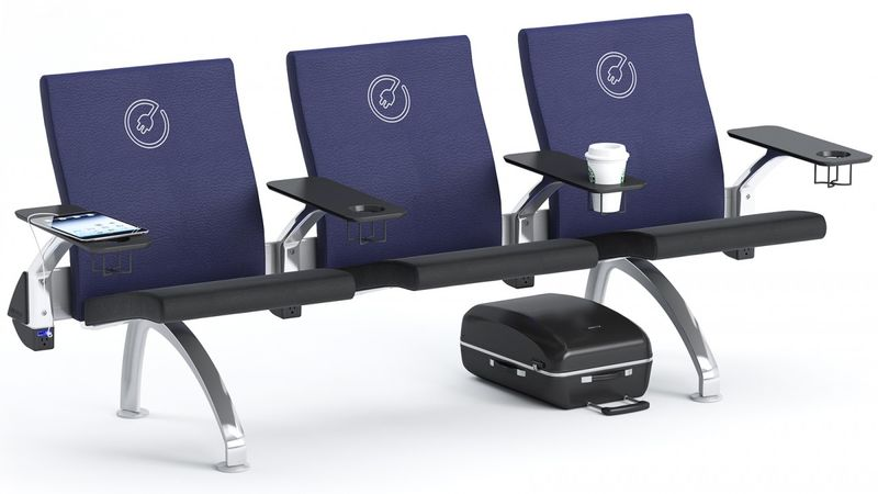 Connected Airport Seating