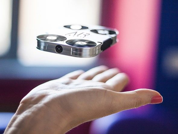 Portable Selfie-Capturing Drones