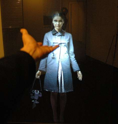 Interactive Holograms