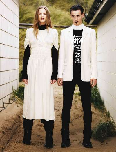 Amish-Inspired Streetwear Editorials
