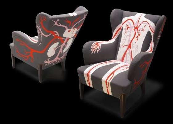 Animated Anatomical Chairs