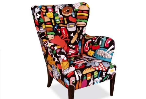 delectable foodie furnishings ak lh food wingchair. Black Bedroom Furniture Sets. Home Design Ideas