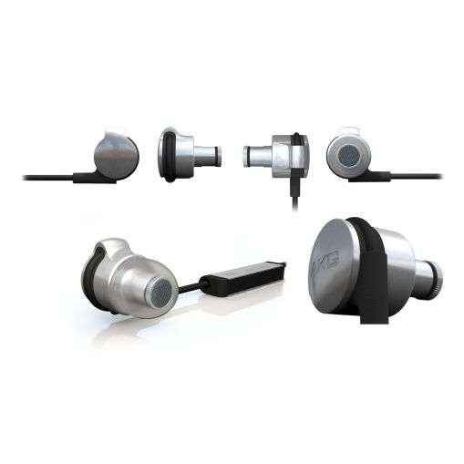 Slick Stainless Steel Buds