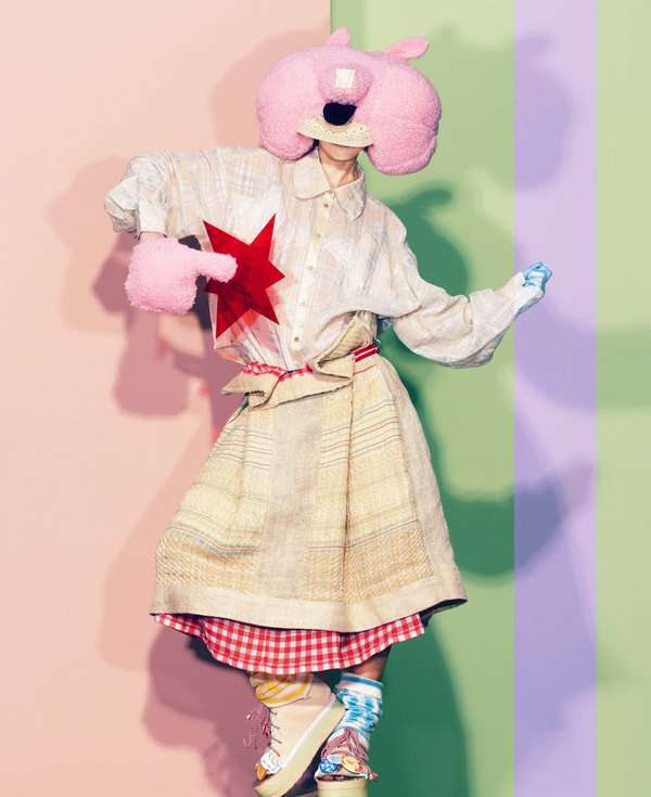 Ambiguous Stuffed-Animal Lookbooks